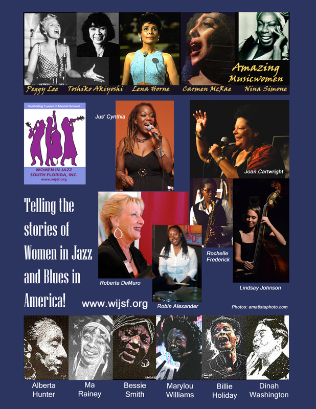 Amazing Musicwomen poster